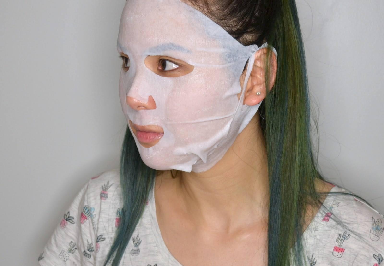 NARUKO Taiwan Magnolia Brightening & Firming Mask EX 2