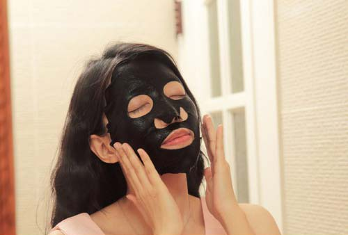 Dr.Morita Platinum Colloid & Hyaluronic Acid Moisturizing Black Facial Mask 6